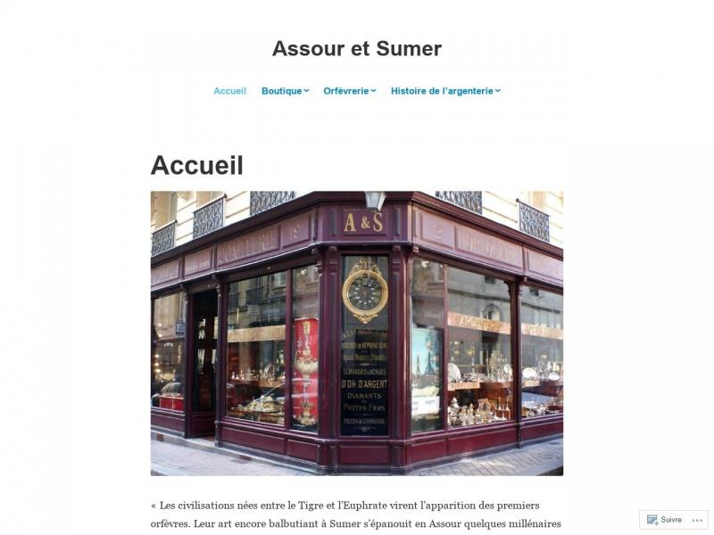 Assour et Sumer - Bordeaux