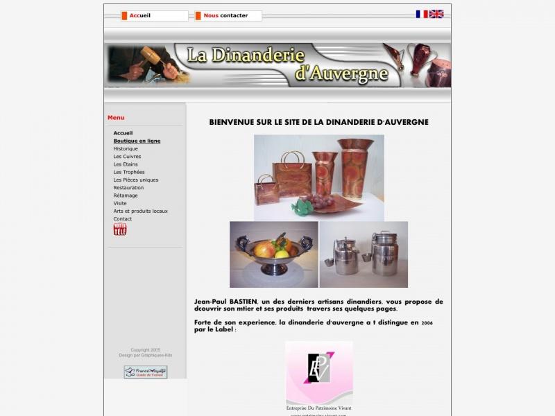 Dinanderie d'Auvergne - Jean-Paul Bastien - Jussac
