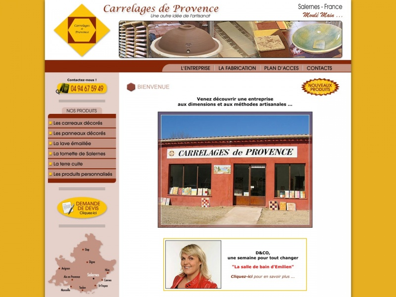 Carrelage de Provence - Salernes