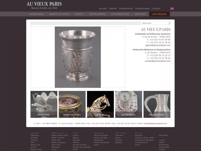 Au Vieux Paris - Paris 2e