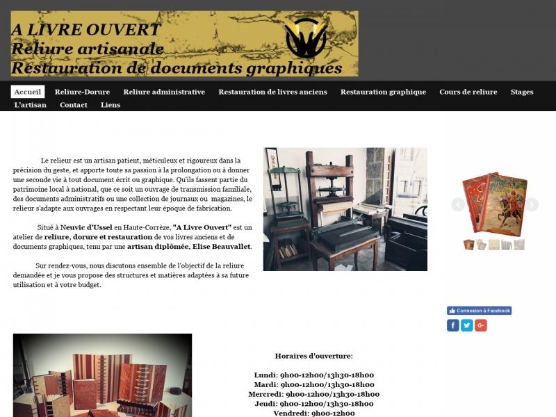 A Livre Ouvert - Neuvic