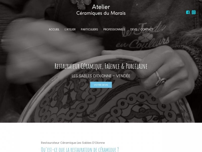 Atelier Ceramiques du Marais - Dorothée Hoffmann - Les Sables d'Olonne