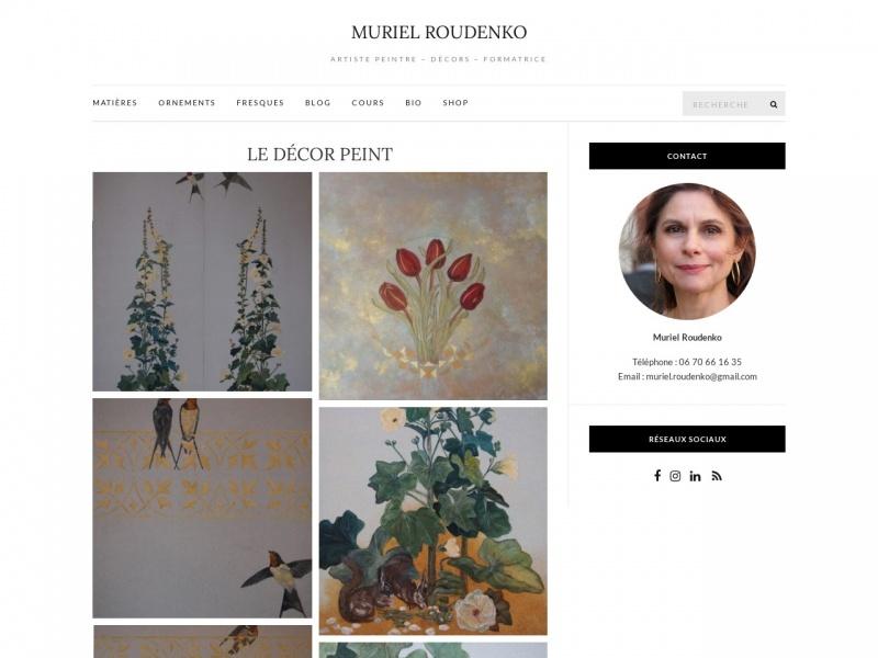Muriel Roudenko - Paris 18e