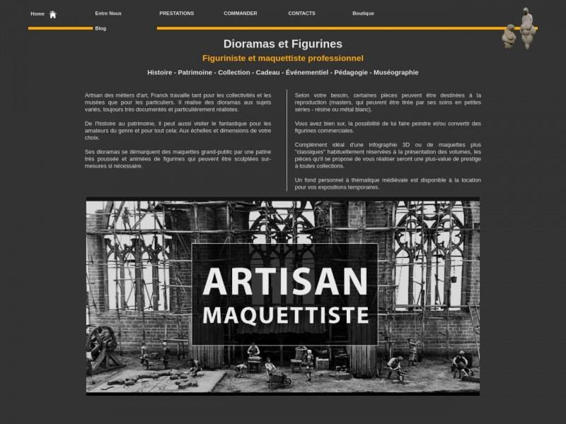 Dioramas et Figurines - Franck Padritge - Patay