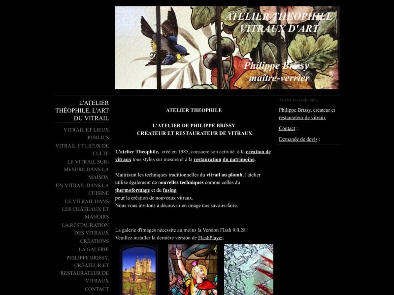 Philippe Brissy - Atelier Théophile - Saumur