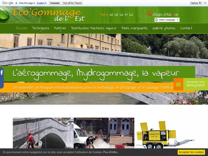 Eco'Gommage de l'Est - Reutenbourg