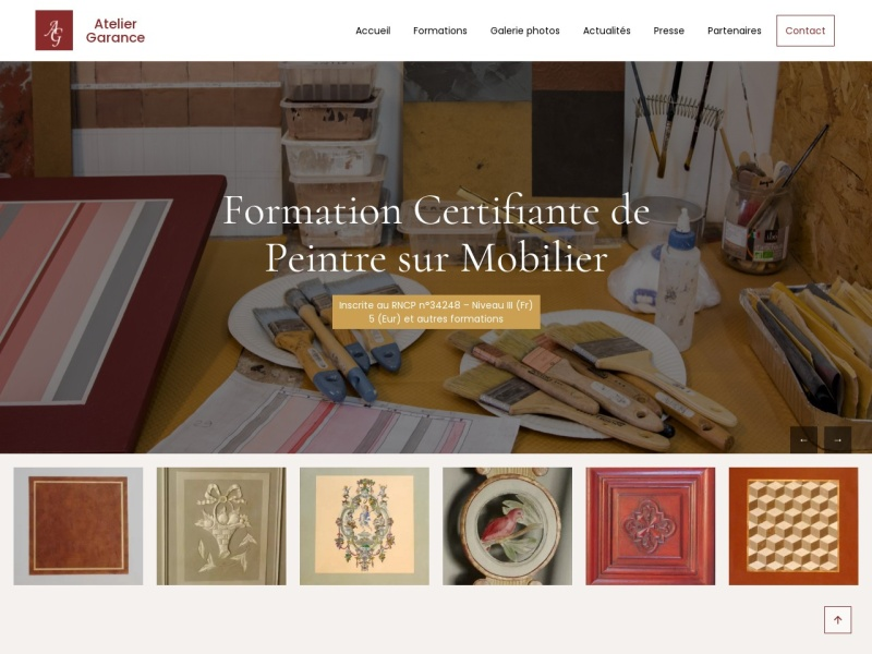 Atelier Garance - Isabelle Barale - Rians