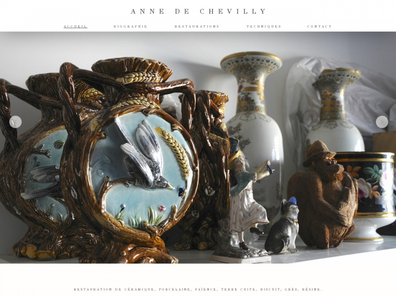 Anne de Chevilly - www.annedechevilly.com