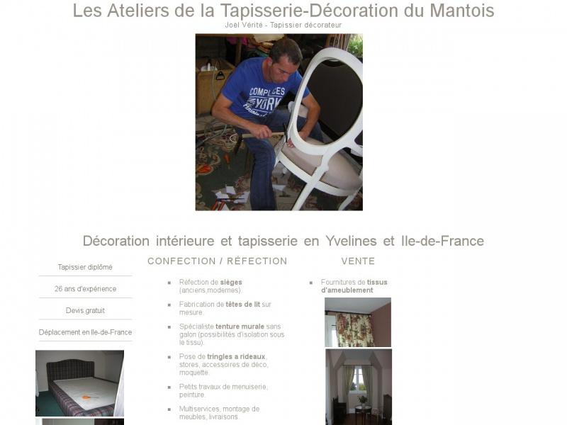 Joel Vérité - Les Ateliers de la Tapisserie - tapisserie-decoration.verite.pro