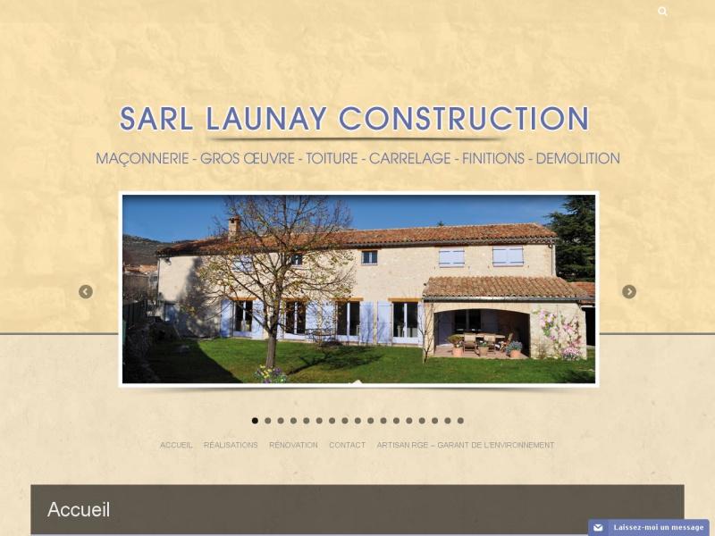 SARL Launay Construction - Saint Vallier de Thiey