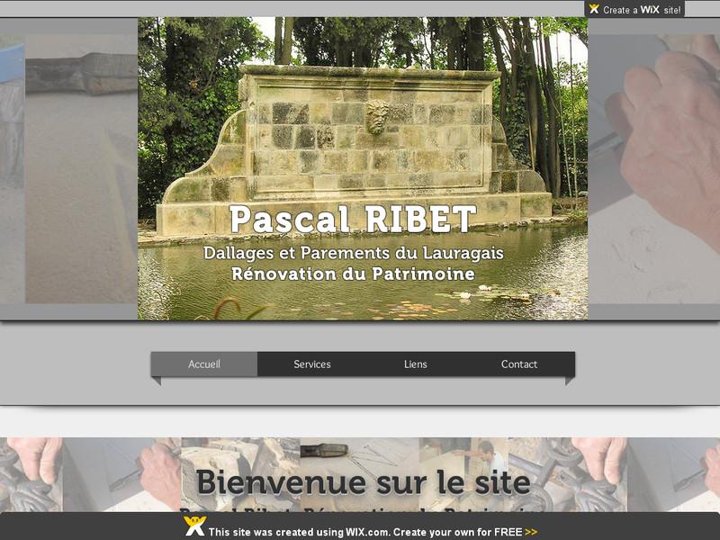 Pascal Ribet - Dallages et Parements du Lauragais - Montclar Lauragais