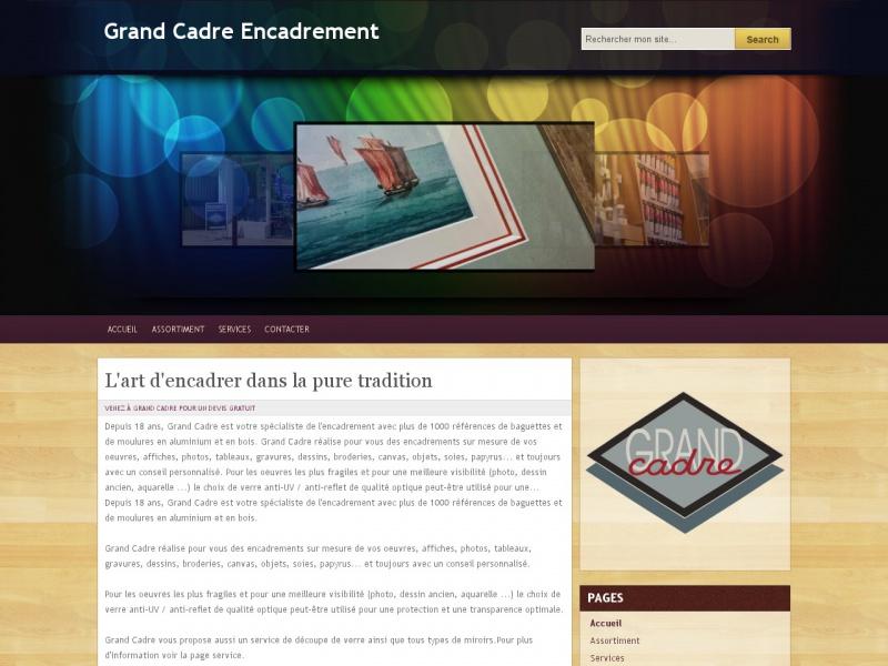 Grand Cadre - Sceaux