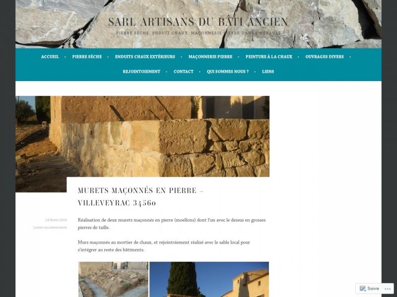 SARL Artisans du Bâti Ancien - Pézenas
