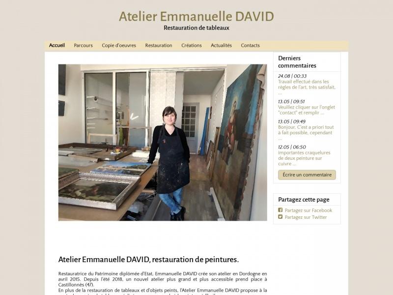 Atelier Emmanuelle David - Castillonnès