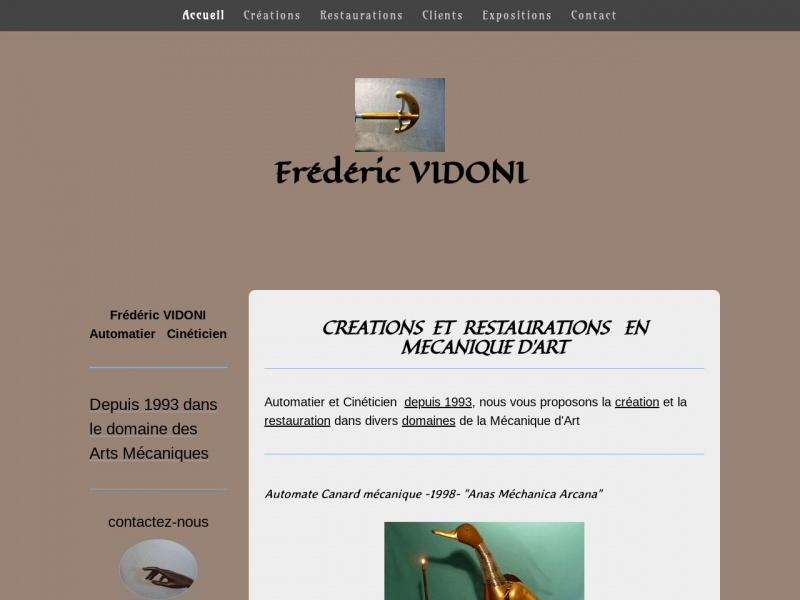 Frederic Vidoni - Apremont