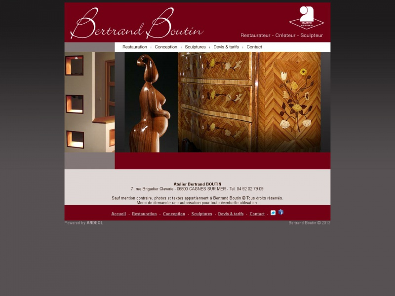 Bertand Boutin - www.bertrand-boutin.com