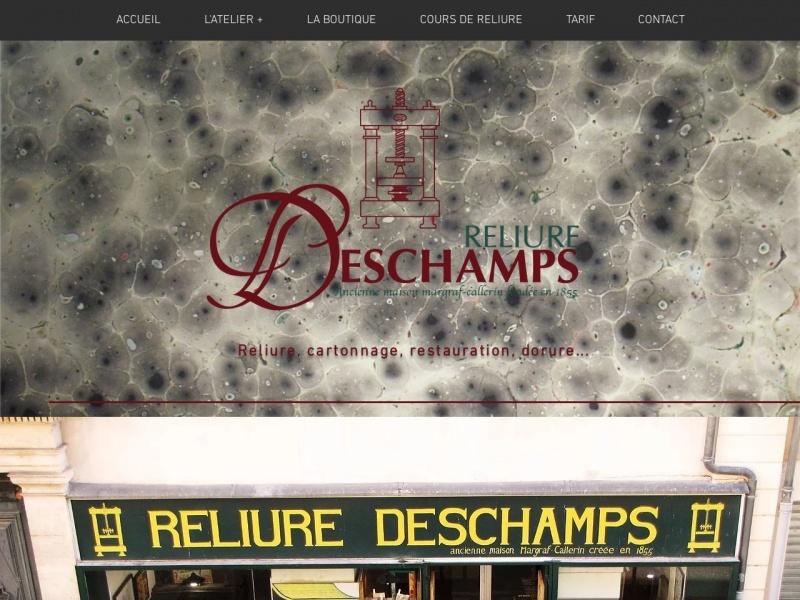 Reliure Deschamps - Nîmes