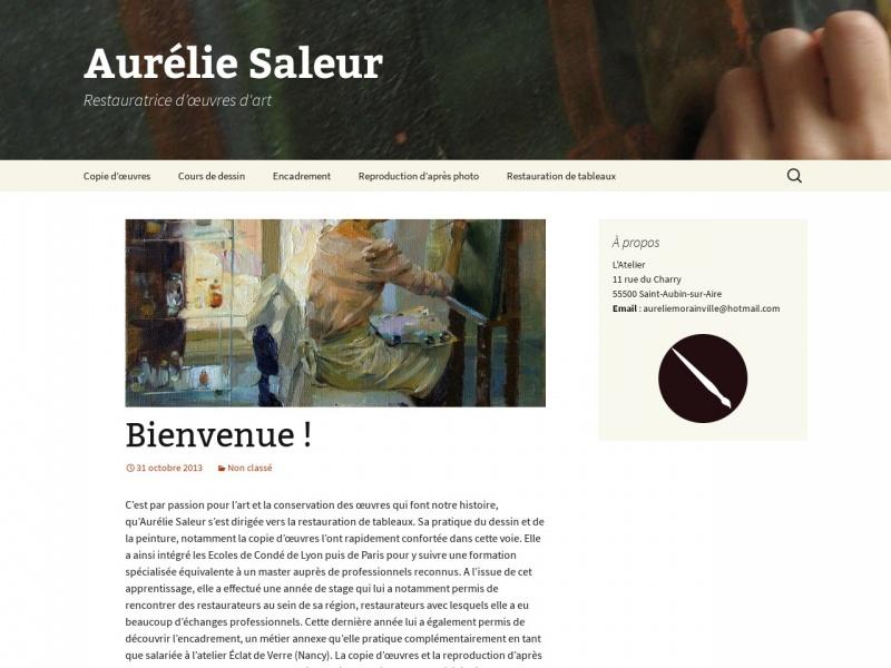 Aurélie Saleur - Saint Aubin sur Aire