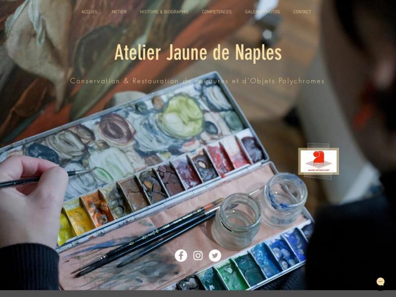 Atelier Jaune de Naples - Paris 20e