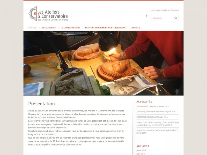 Les Ateliers et Conservatoire des Meilleurs Ouvriers de France - Saint Etienne