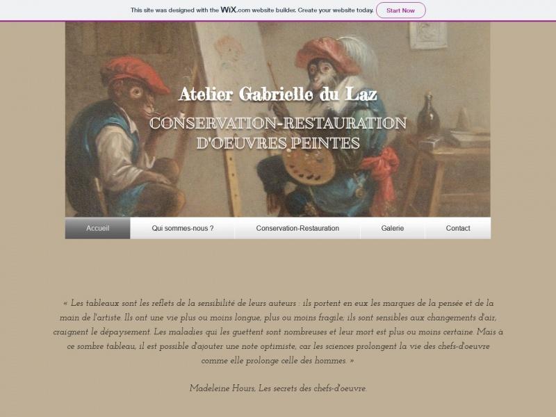 Atelier Gabrielle du Laz - Rouen