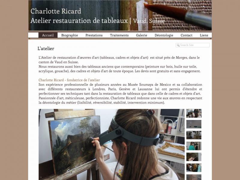 Charlotte Ricard - Lausanne
