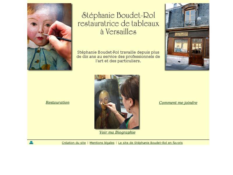 Stéphanie Boudet-Rol - Versailles