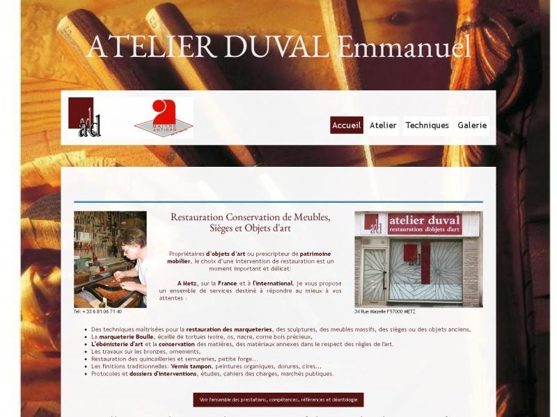 Atelier Emmanuel Duval - Metz
