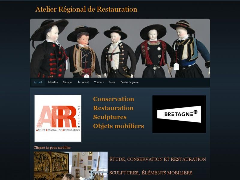 Atelier Régional de Restauration - Bignan
