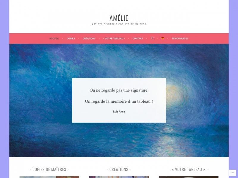 Amélie Gonze - Paris 20e