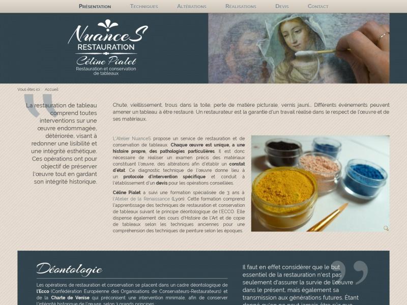 NuanceS Restauration - Céline Pialet - Grenoble
