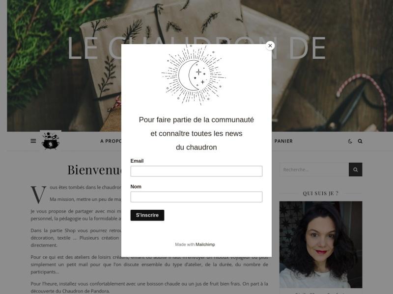 Le Chaudron de Pandora - Trégunc
