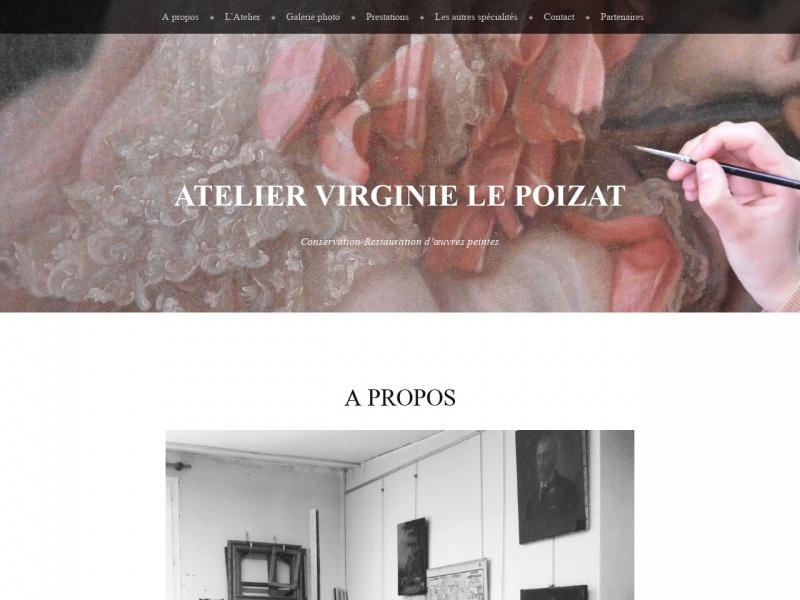 Virginie le Poizat - restaurationdetableaux-paris.fr