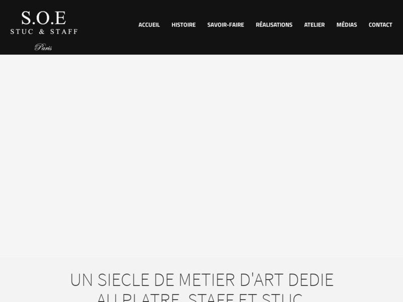 SOE Stuc et Staff - Paris 15e