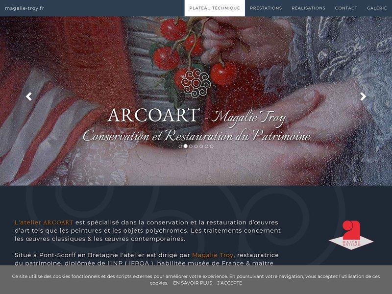 Arcoart - Magalie Troy - Pont Scorff