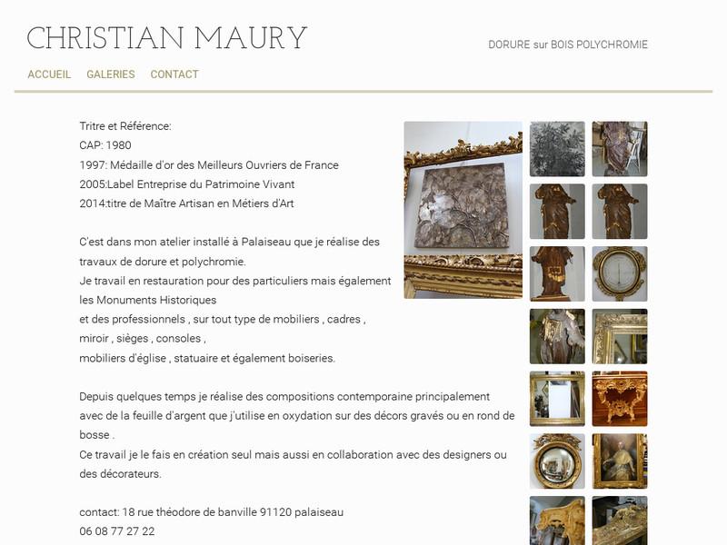 Christian Maury - Palaiseau