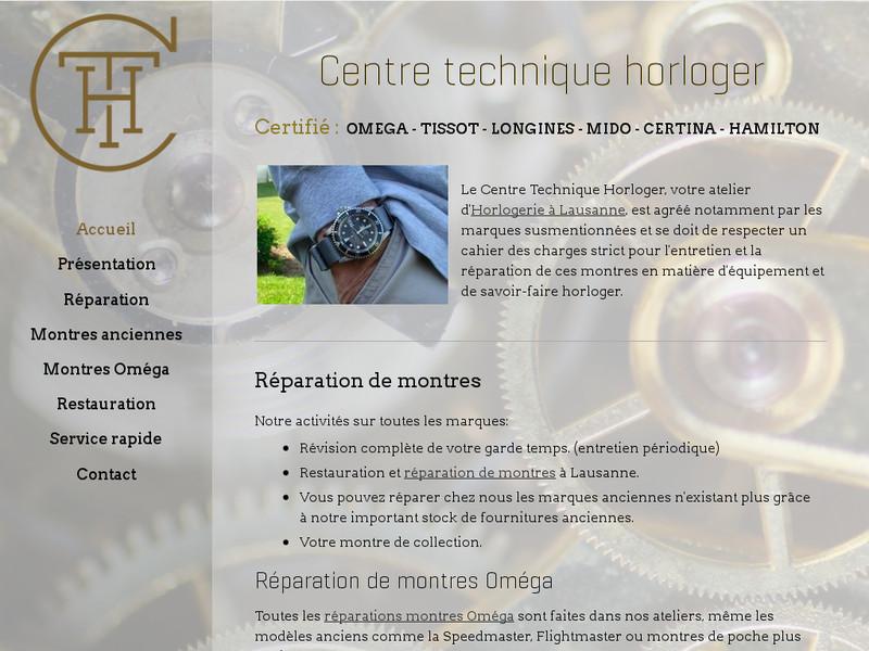 Centre Technique Horloger - Lausanne