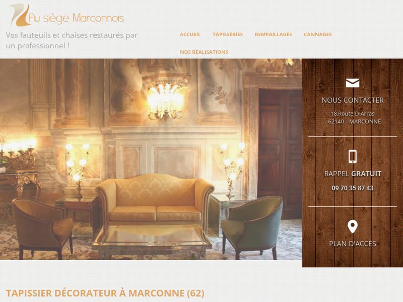 Au Siège Marconnois - Marconne