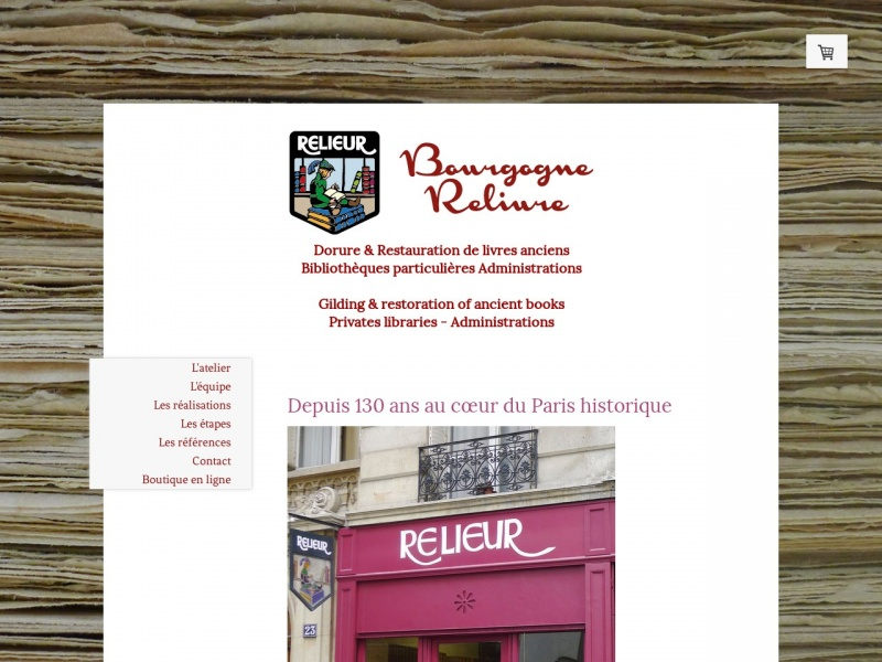 Bourgogne Reliure - Paris 7e