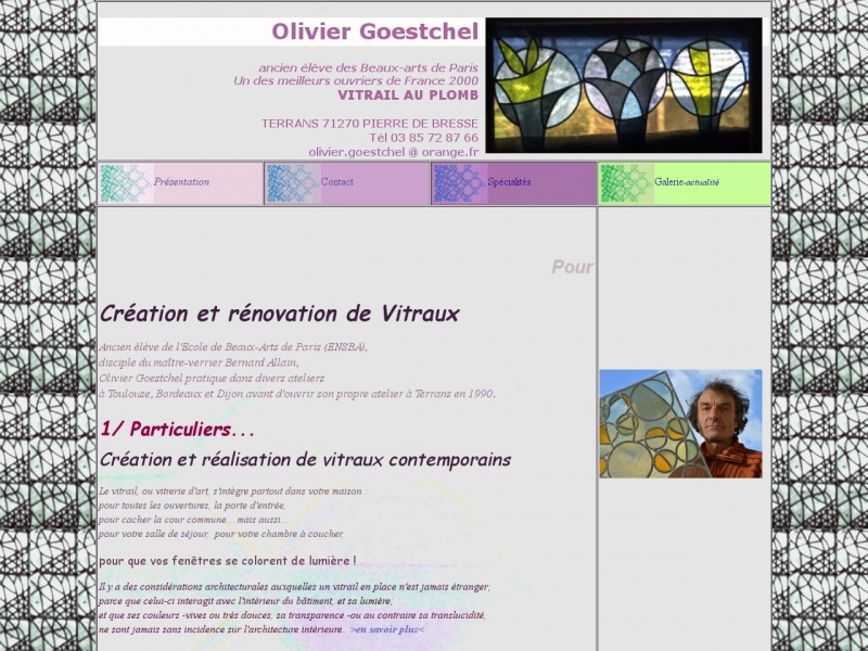 Olivier Goestchel - Pierre de Bresse