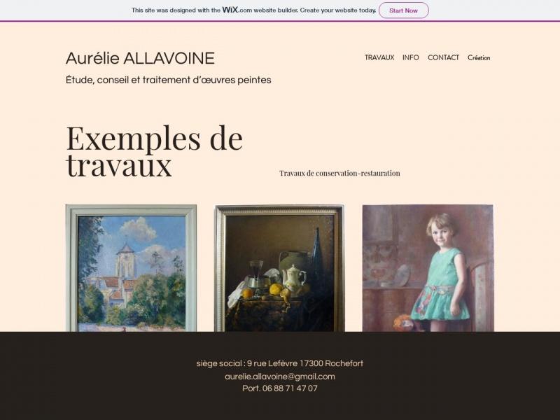 Aurélie Allavoine - Rochefort