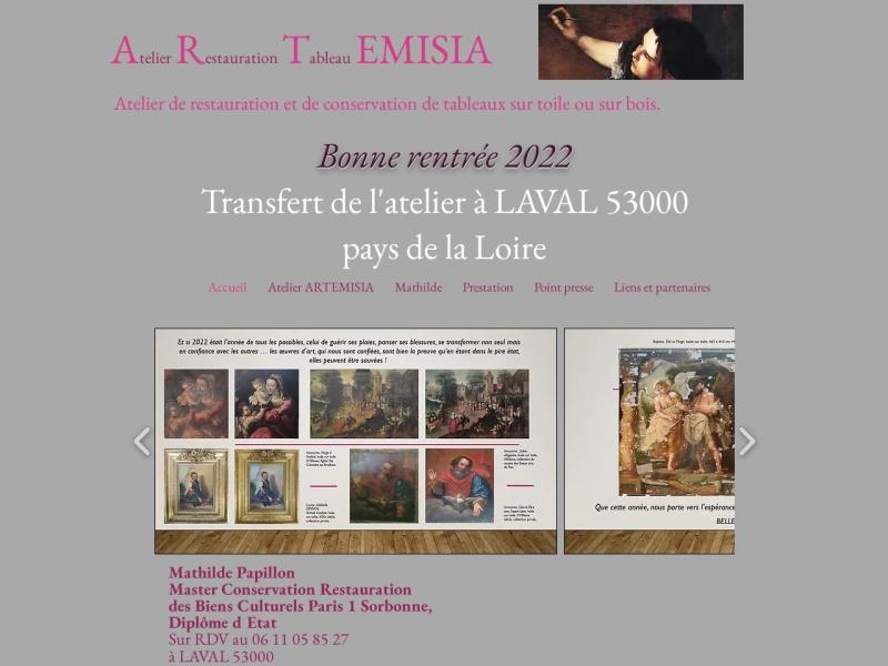 Artemisia - Mathilde Papillon - Clermont Ferrand