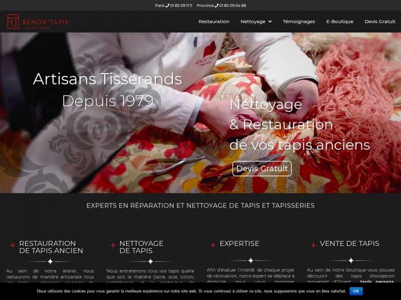 Renov Tapis l'Atelier Fitoussi - Paris 16e