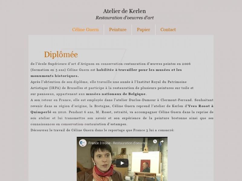 Atelier de Kerlen - Céline Guern - Loperhet