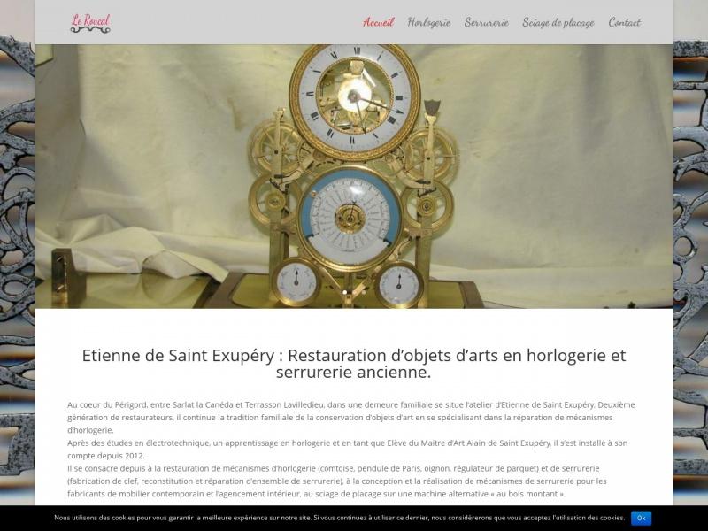 Le Roucal - Etienne de Saint Exupéry - Terrasson Lavilledieu