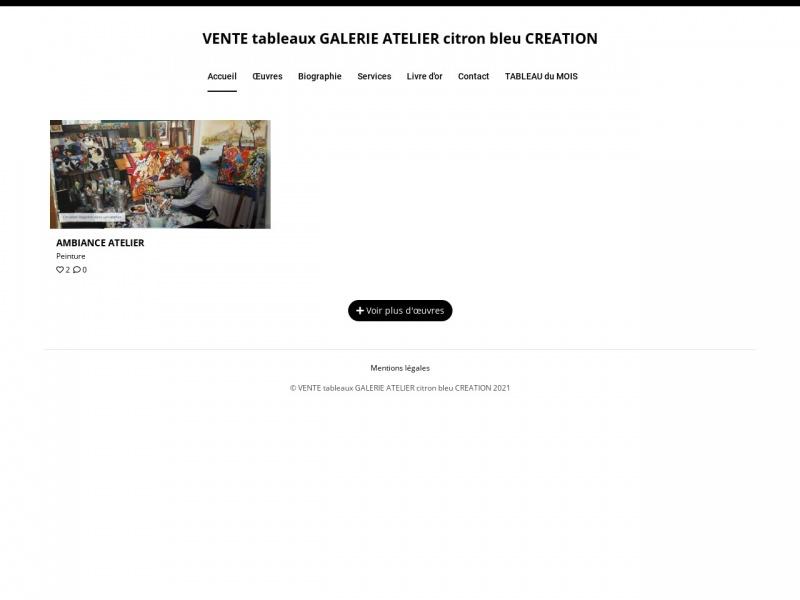 Christian Hagnere - Atelier Citron Bleu - Chatillon sur Chalaronne