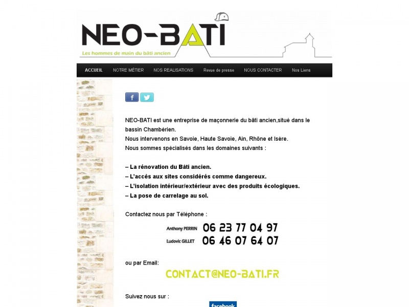 Néo-Bati - Jacob Bellecombette