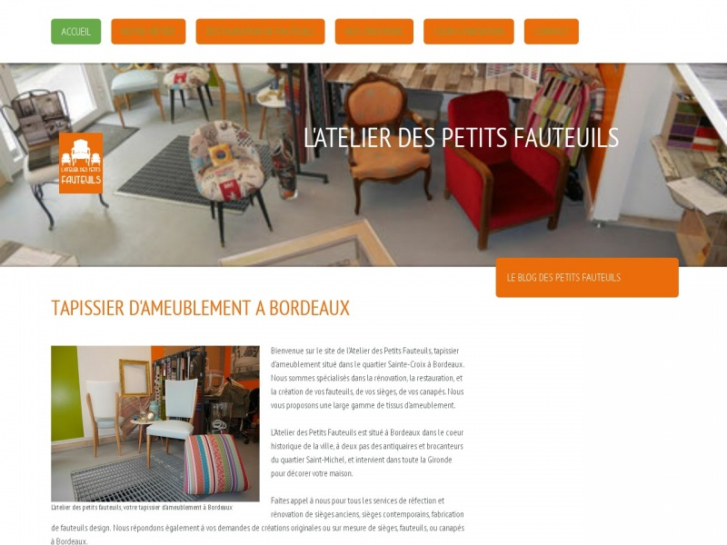 L'Atelier des Petits Fauteuils - Bordeaux