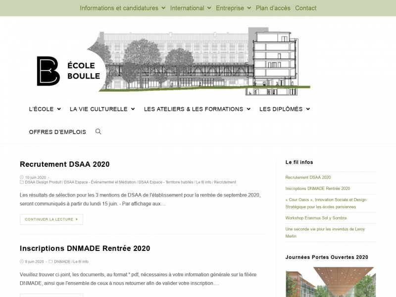 Ecole Boulle - ESAA - ecole-boulle.org