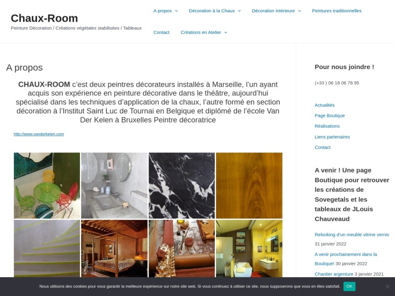 Chaux Room - Sophie Willame - Marseille 4e